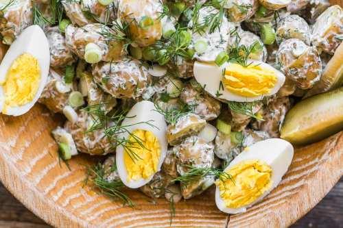 Medium Of Dill Pickle Pasta Salad