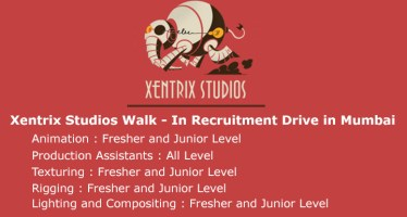 Xentrix Studios Walk in recruitment drive in Mumbai