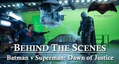 behind the scenes batman vs superman