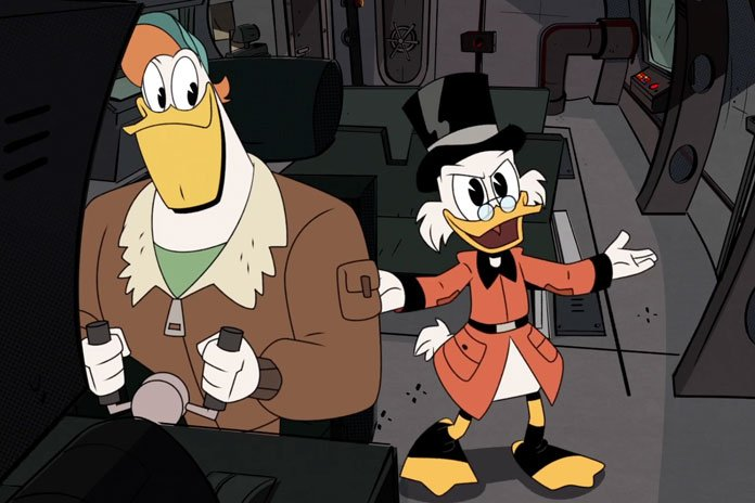 Launchpad McQuack Uncle Scrooge ducktales