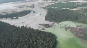 Mount Polley tailing breach, August 2014
