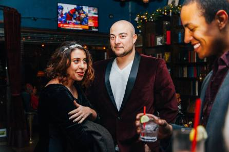 Bedford Hall, Brooklyn United, holiday party 2014