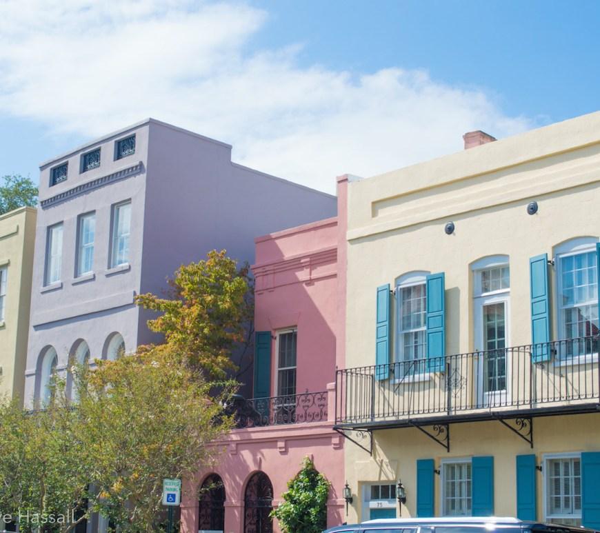 Charleston Rainbow Row USA