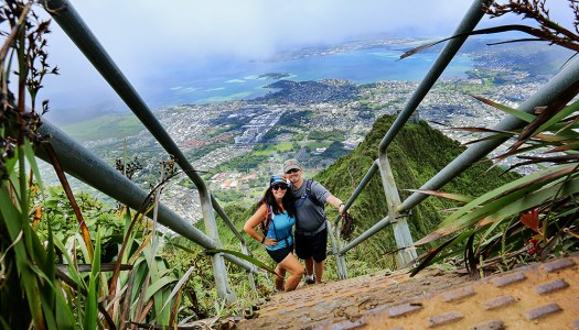 Moanalua Middle Ridge to Ha'ikū Stairs