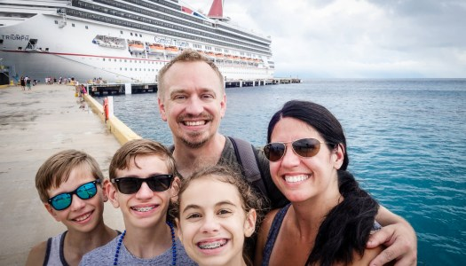 Cruising on the Carnival Triumph to the Western Caribbean