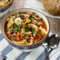 Easy Russian Cabbage Roll Soup