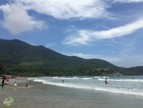 Bãi Dài beach on the way to Nha Trang