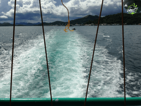 Ferry ride from Coron to Manila - Backpacking Palawan