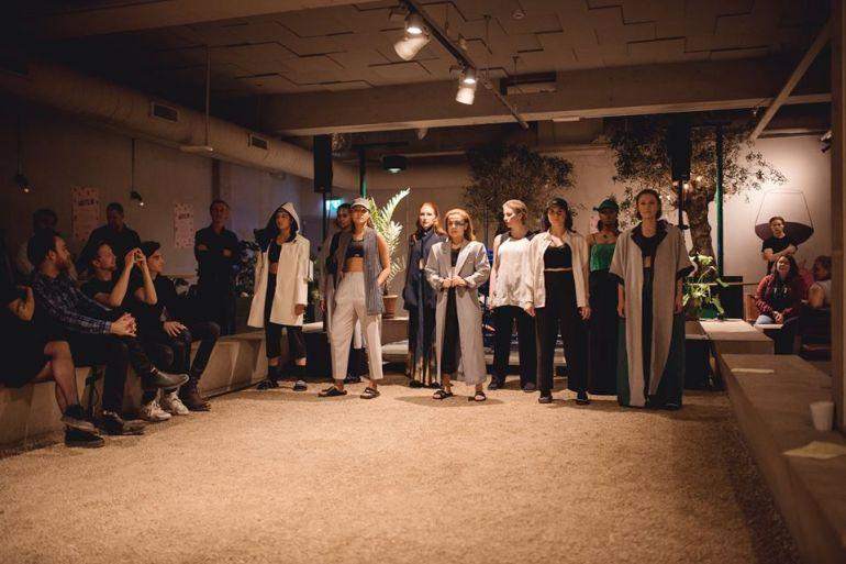 Förkväll för Fashion UP! på Boulebar Foto: Rebecka Bjurmell