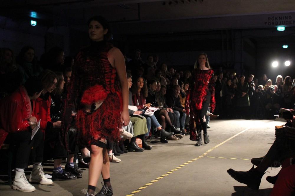 Borås Textilhögskola håller visning i lokaler på Frihamnen