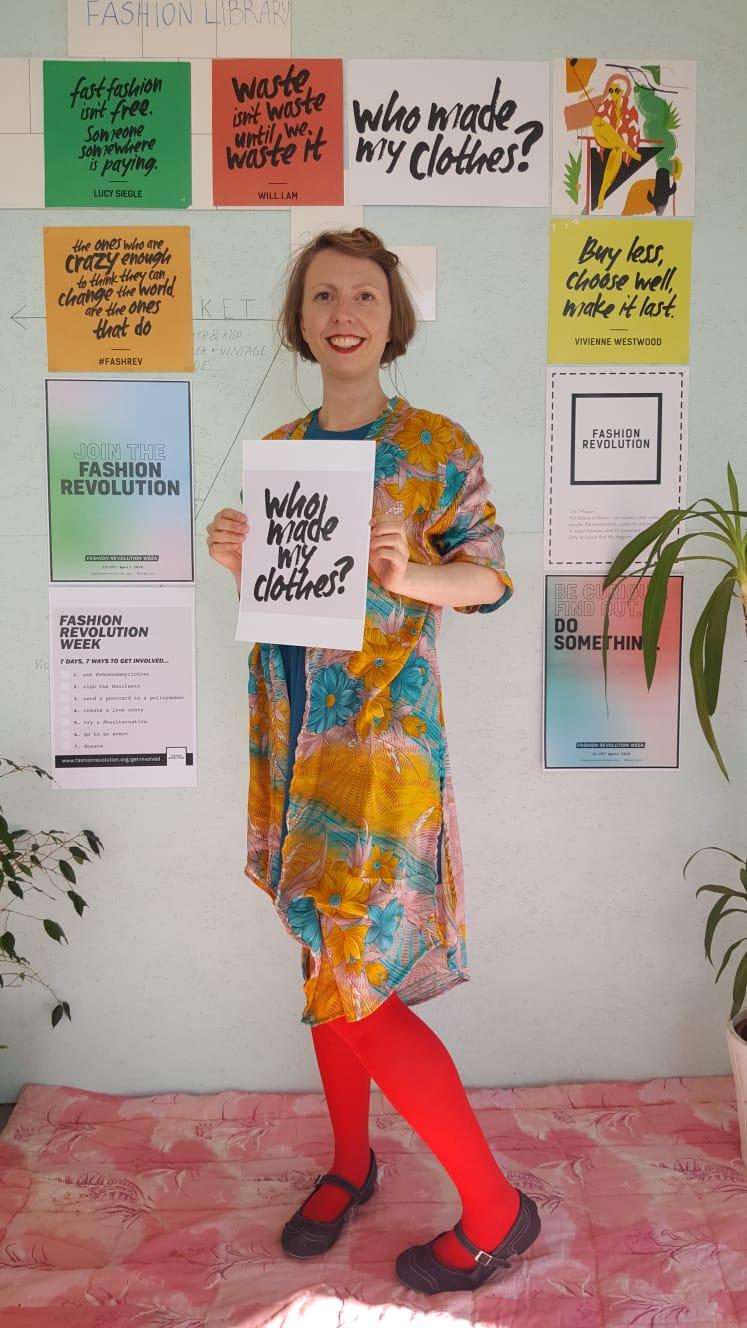 Elin i Kimono från Cornelia Sun