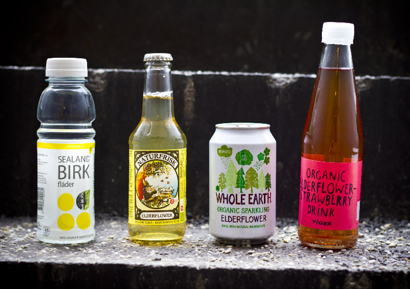 4 elderflower drinks