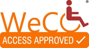 WeCo's trademark registered Access Approved logo