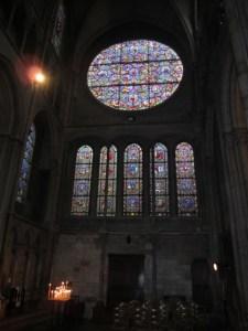 Notre Dame Dijon windows