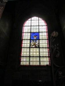 Notre Dame window Dijon