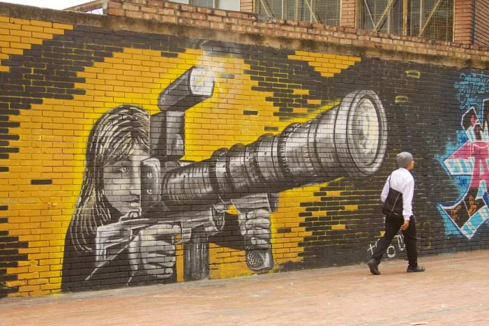Street art in Bogota | TheWeekendJetsetter.com