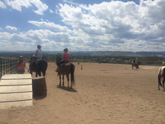 Horseback riding in Arvata, Colorado