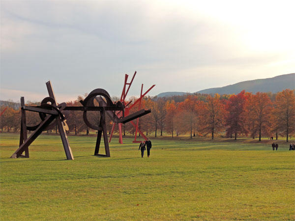Storm King Sculpture Garden in New York's Hudson Valley | TheWeekendJetsetter.com