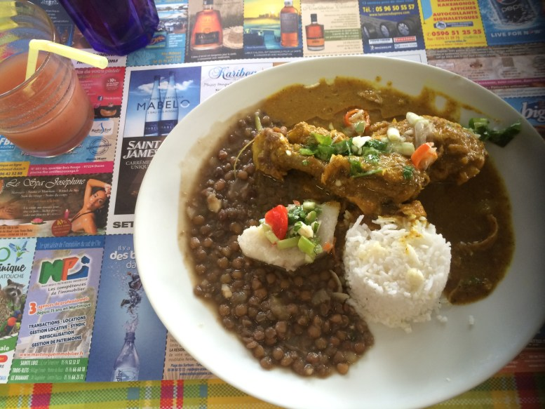 Lunch at Chez Carole in Forte-de-France, Martinique | TheWeekendJetsetter.com