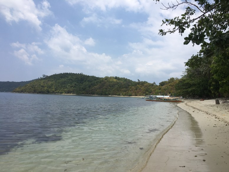 Island hopping, tour, Port Barton, Palawan, Philippines