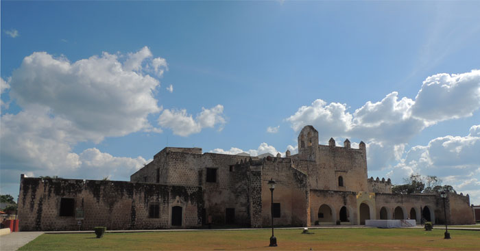 Convent, Weekend Getaway: Valladolid, Yucatán, Mexico | TheWeekendJetsetter.com