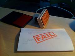 fail photo
