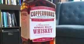 Copperworks American Single Malt Whiskey
