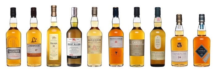 Diageo Special Releases 2016 Drops As Varied Scotch Whisky Crop