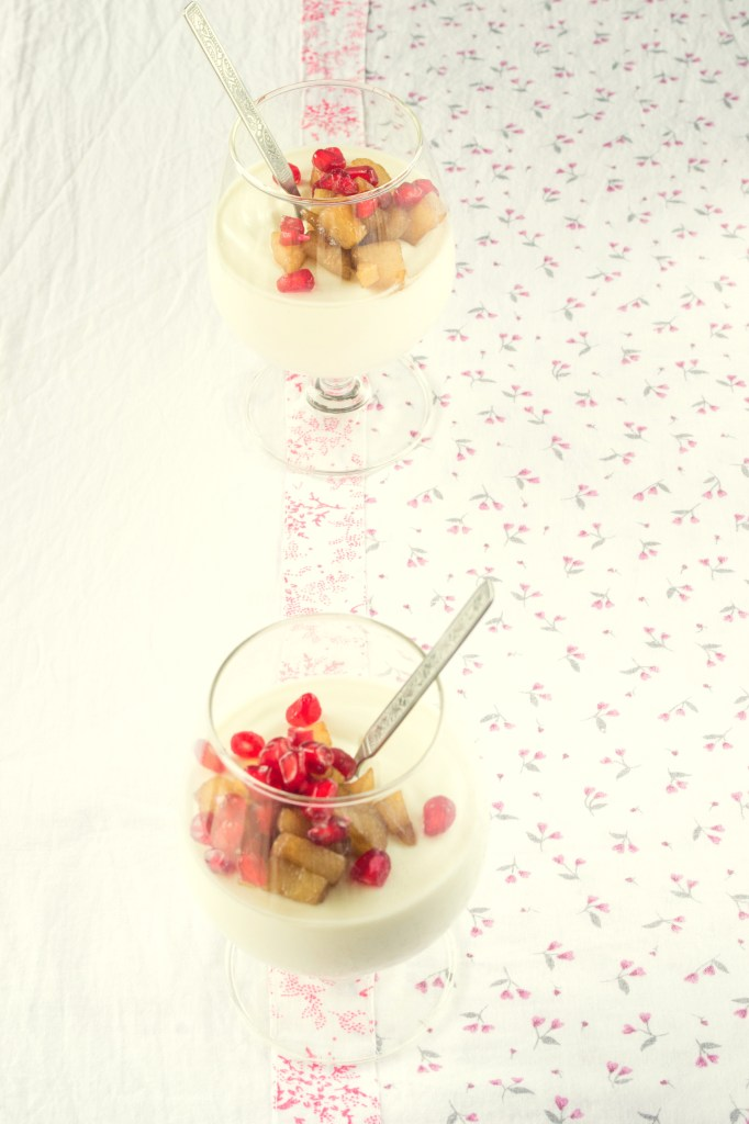 That's the good thing about panna cotta. You can add flavors of your ...