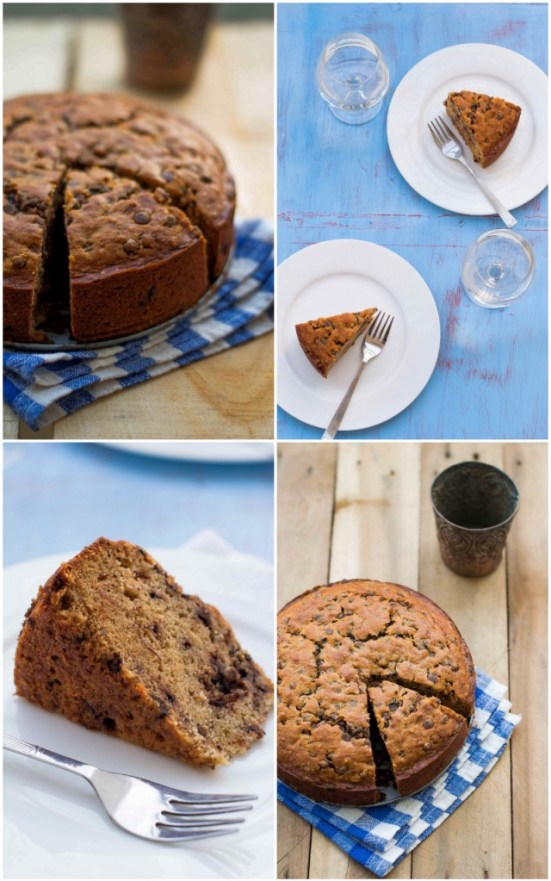 Banana Chocolate Chip Cake 5