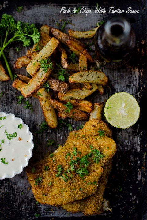 Fish & Chips With Tartar Sauce...The Airfryer Way - The ...