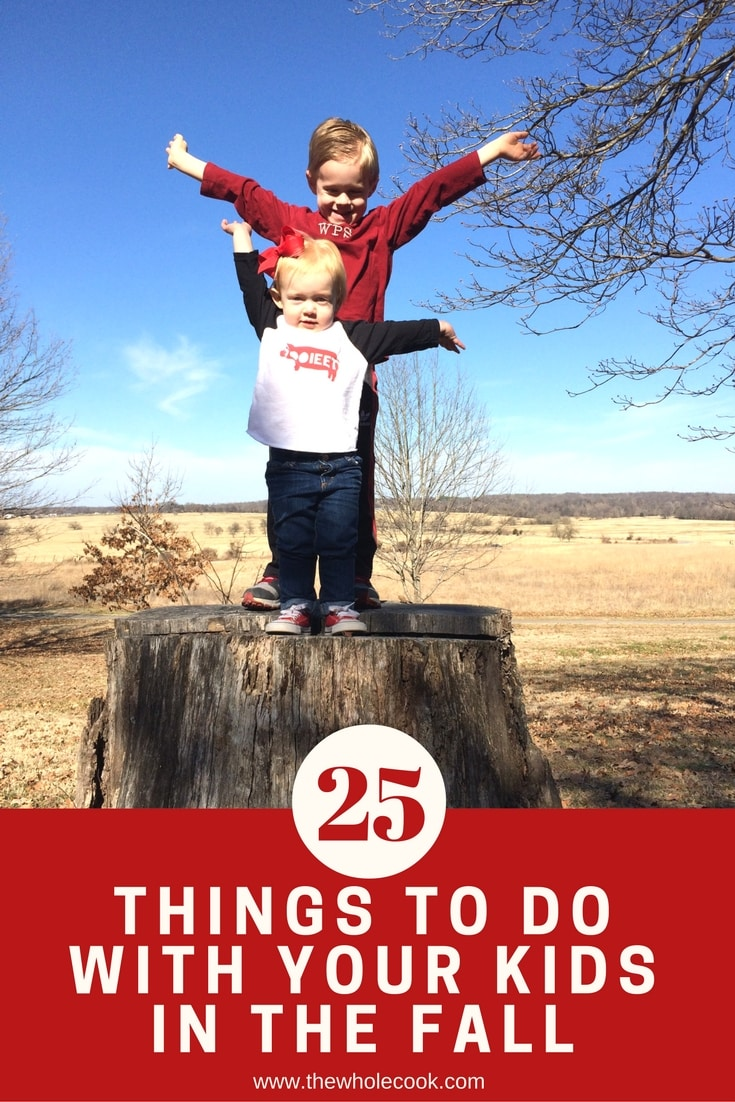 25 Things to Do With your Kids in the Fall