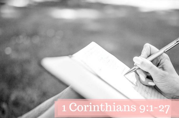 1 Corinthians 9:1-27