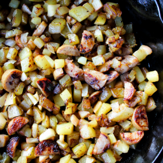 Chicken Apple Breakfast Hash