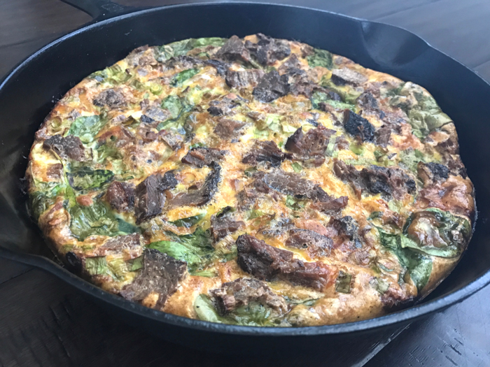 Whole 30 + Dairy Free Crustless Quiche