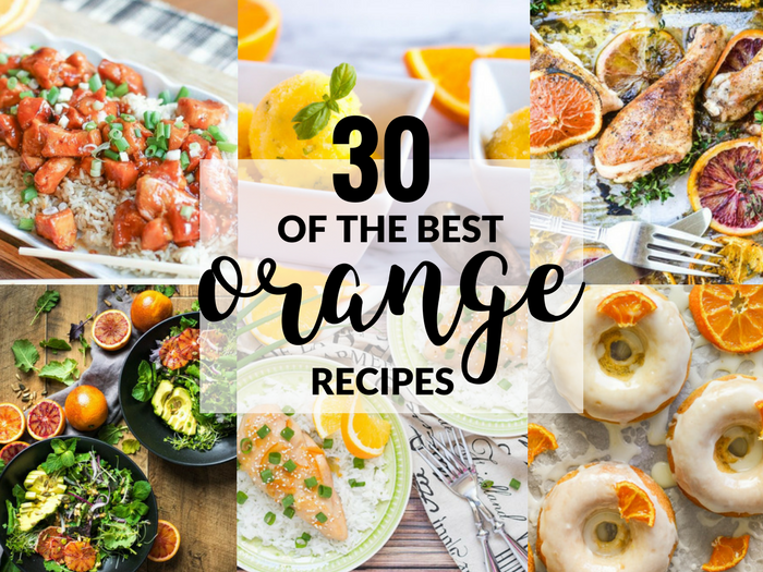30 of the Best Orange Recipes FEATURE
