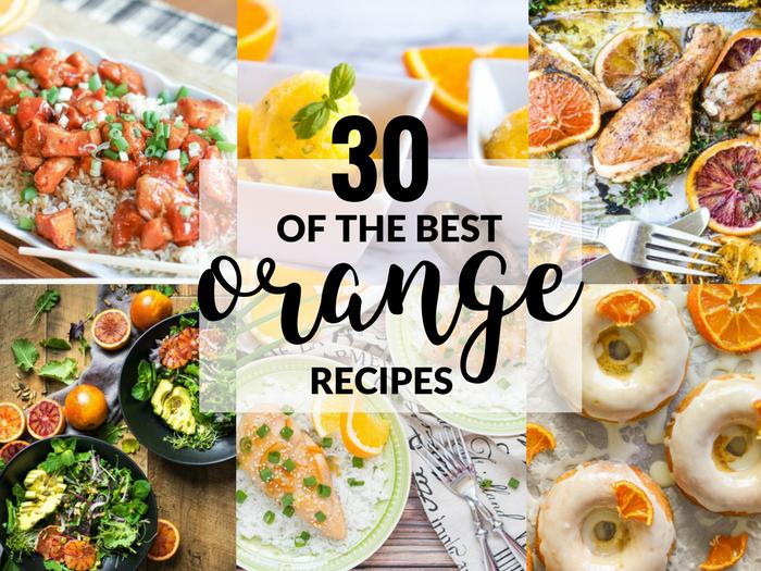 30 of the Best Orange Recipes FEATURE