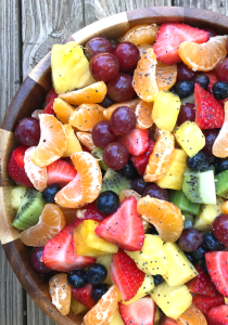 Fruit Salad with Lemon Poppy Seed Dressing by The Whole Cook FEATURE VERTICAL