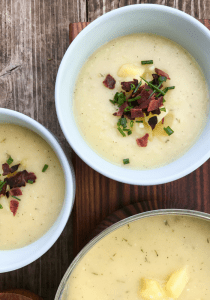 Creamy Potato Soup by The Whole Cook VERTICAL FEATURE
