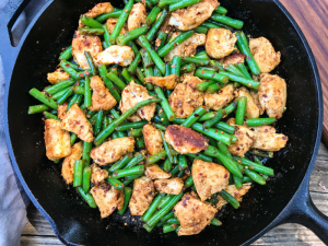 Garlic Crushed Red Pepper Chicken Stir Fry by The Whole Cook HORIZONTAL FEATURE