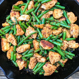 Garlic Crushed Red Pepper Chicken Stir Fry