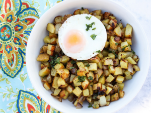 Skillet Breakfast Potatoes by The Whole Cook HORIZONTAL FEATURE