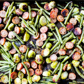 Sheet Pan Sausage & Veggies