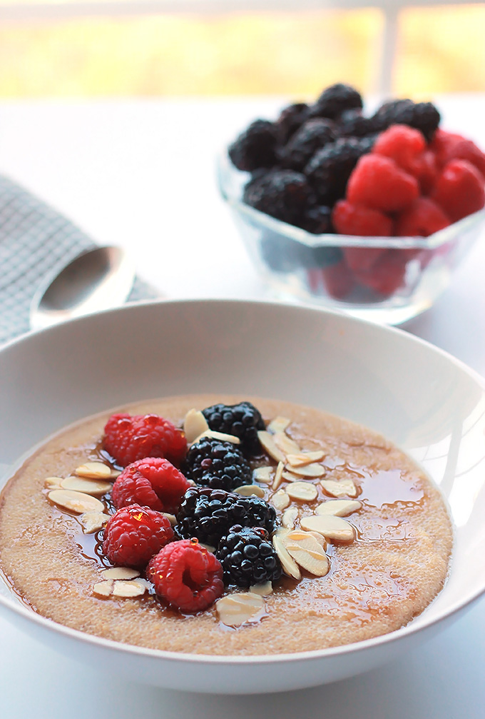 Cinnamon Amaranth with Berries
