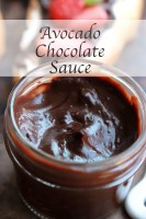 Avocado and Chocolate - Make your own smooth, creamy and decadent chocolate spread in just minutes. If you don't tell, no one will ever know that it's a mix of avocado and cocoa powder. It's simply delicious, Avocado Chocolate Sauce.