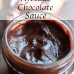 Avocado Chocolate Sauce