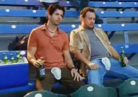 rolling rock remember your cup Baseball Fans Unintentionally Mimic Classic 'Remember Your Cup' Rolling Rock Commercial of the Past (Videos)