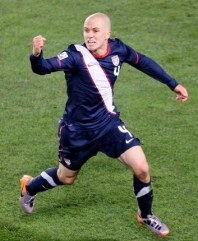 michael bradley of usa celebrates second goal vs slovenia world cup 2010 FIFA World Cup: Final Group Standings, Statistics, Final Thoughts and a Knockout Stage Preview