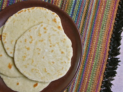 Homemade Tortillas (Flour) : the Wimpy Vegetarian