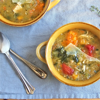 Farm Harvest Soup with White Beans